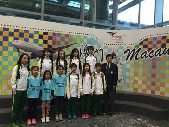 花冰代表隊前往北京參加 2015 ISI 北京花樣滑冰錦標賽