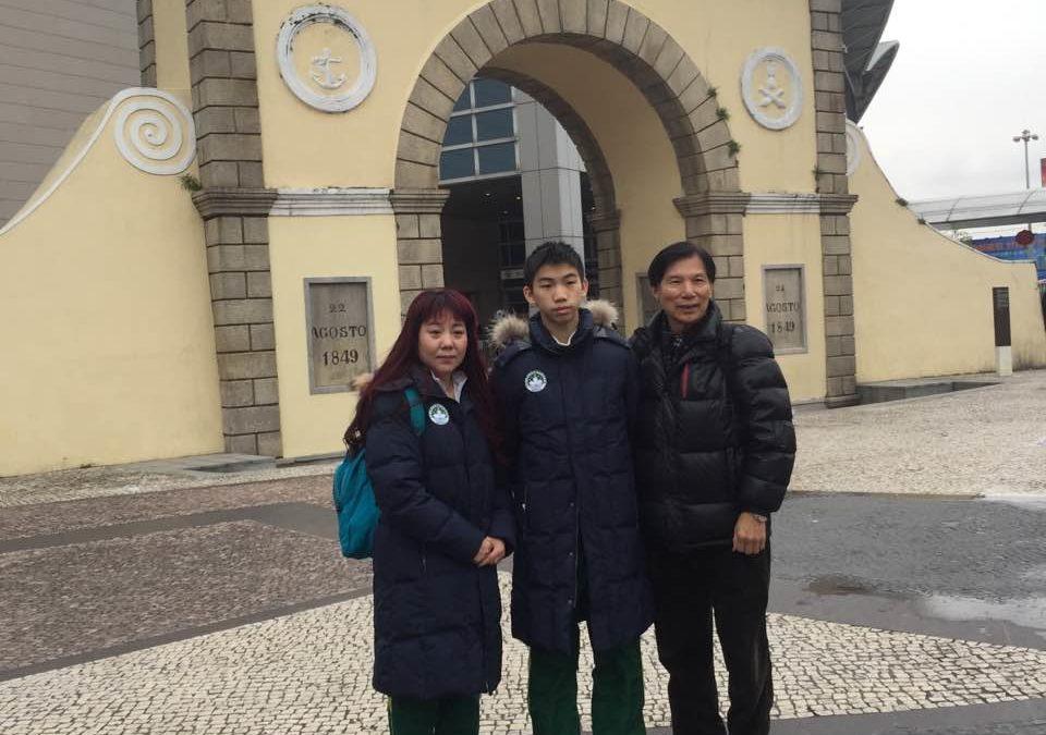 澳門花冰隊參加第十三屆全國冬季運動會 – 新疆烏魯木齊